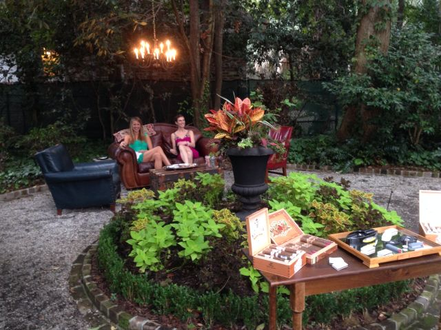 Love this idea- outdoor cigar bar at a wedding. | Events