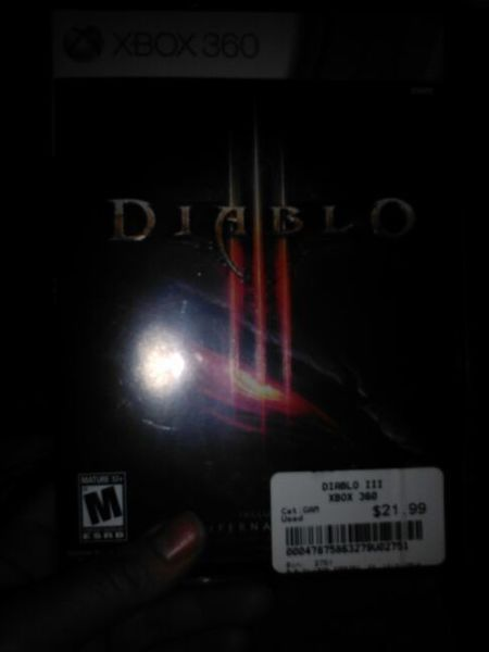 Diablo xbox 360 game