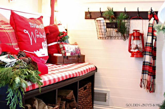 Our Christmas Entryway