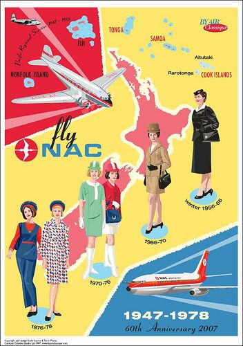 NAC New Zealand Map Poster by Contour Creative Studio, via Flickr