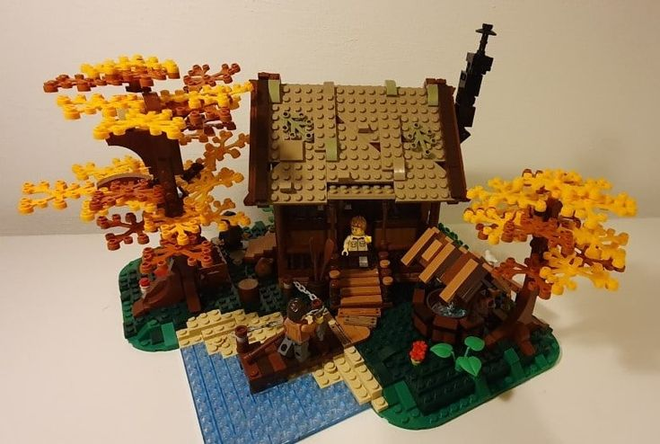 Pin By Mocs Maker On Lego Instructions In 2021 Family Cabin Relaxing Holidays Lego Instructions