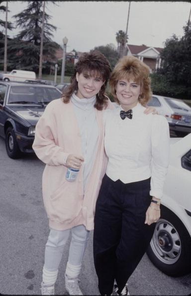 Nancy McKeon and Lisa Whelchel #thefactsoflife