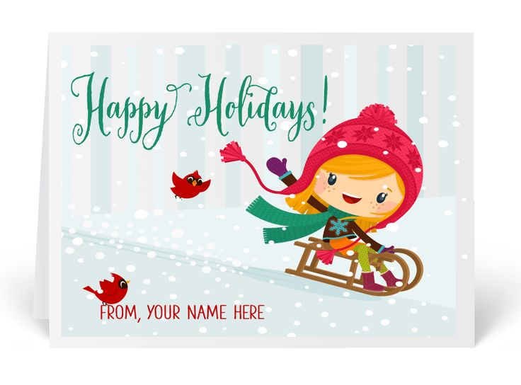 16 best whimsical holiday greeting cards images on pinterest whimsical christmas holiday greeting card cute holiday cards printed christmas cards unique holiday m4hsunfo