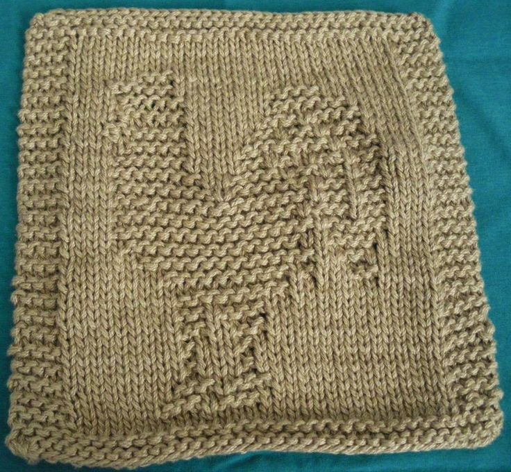Free Knitting Pattern Turkey Dishcloth : 172 best images about wash cloths on Pinterest Free pattern, Knit patterns ...