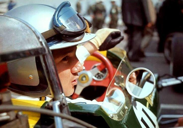 Pedro Rodriguez (Lotus 33 BRM) Grand Prix des USA - Watkins Glen 1966 - source Carros e Pilotos.