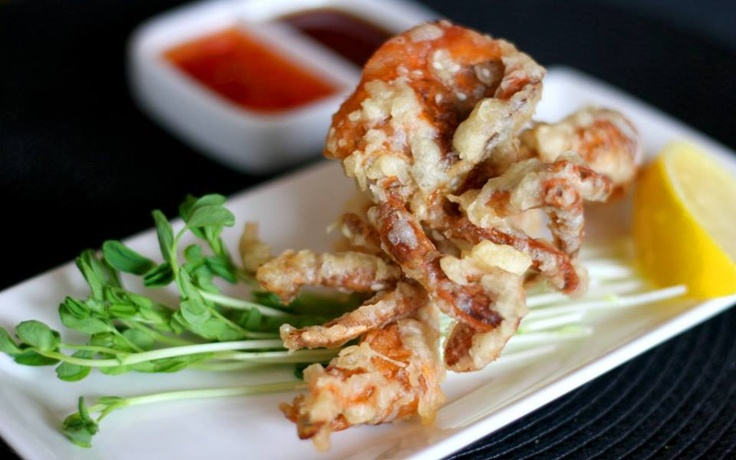 Soft crab shells from Red Onion, Glasgow - Restaurants - 5pm.co.uk