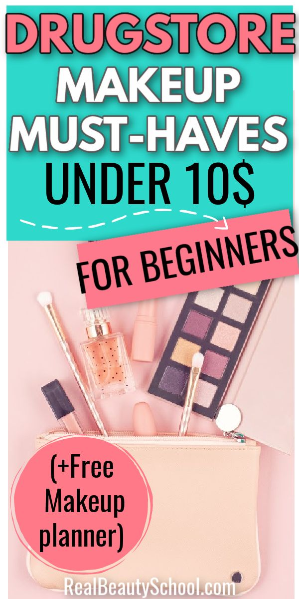 Best Drugstore MustHaves Under 10 in 2020 Makeup kit