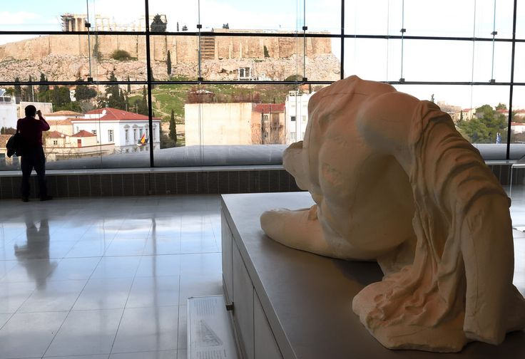 A view for the #AcropolisMuseum. #AthensWas
