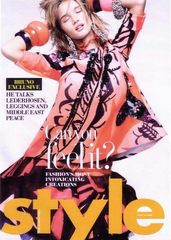 Sunday Times Style Magazine - Sunday Times Style Magazine June 2009 Cover