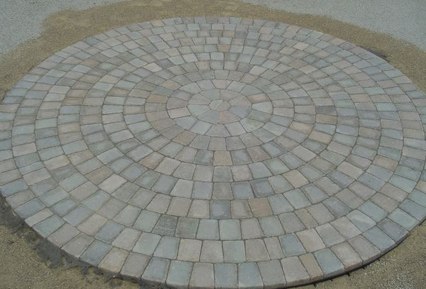 Possible paving detail - circle