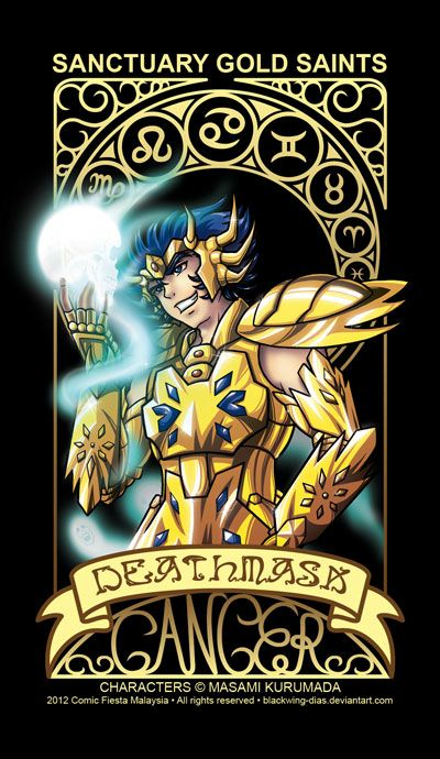 Saint Seiya - Cancer by blackwing-dias on DeviantArt