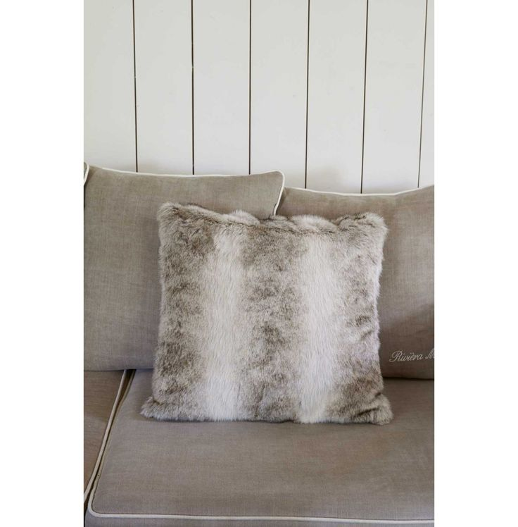 Sable Pillow Cover Grey 50x50 - Rivièra Maison #rivieramaison #home #living #styling #homedeco #interior