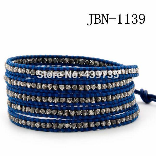 Новое поступление мода кожаный браслет медные ткацкие шарм браслеты ручной работы для женщин ювелирные изделия JBN-1139