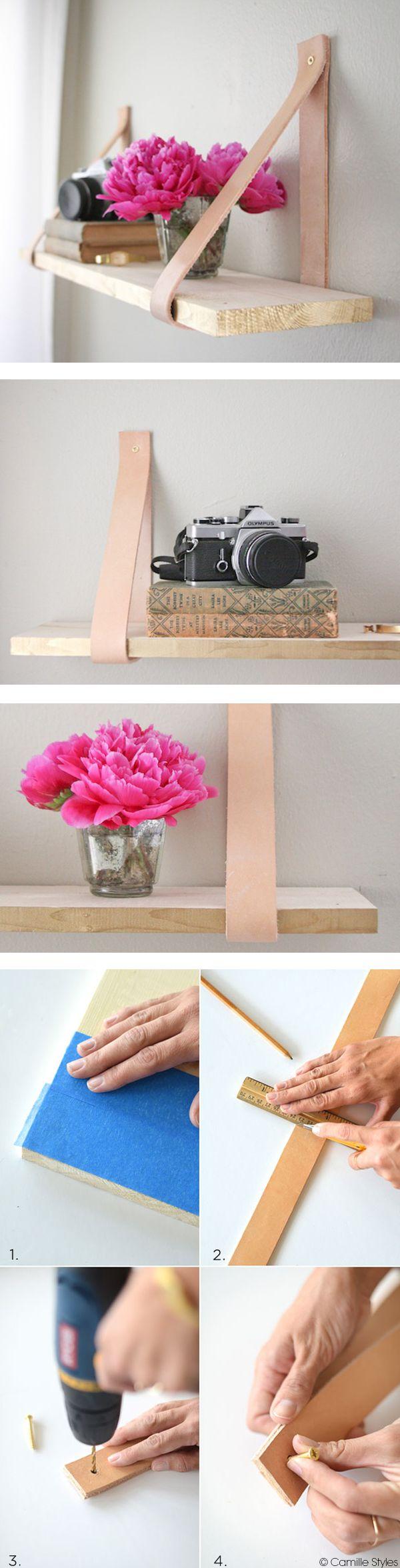 Les étagères suspendues ont la cote…  N'hésitez pas : montrez-nous les vôtres ! http://bit.ly/1CBY071 #dccv #diy #shelve #deco #design #blog