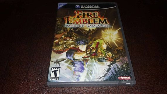 Check out this item in my Etsy shop https://www.etsy.com/listing/489661331/nintendo-gamecube-video-game-fire-emblem
