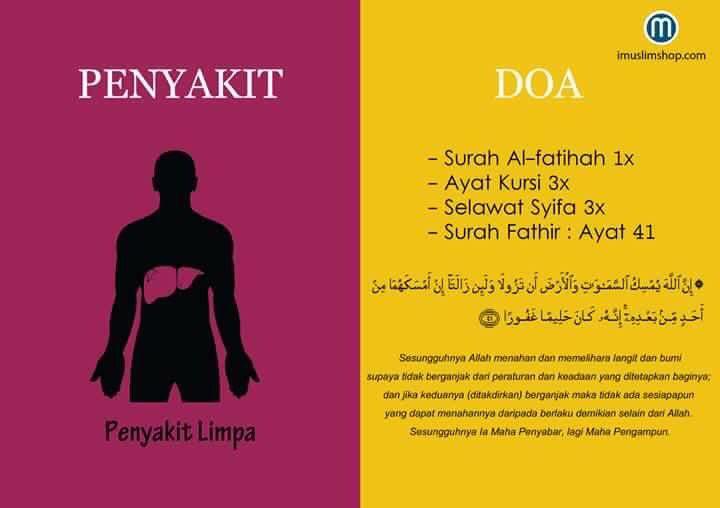 Doa sakit liver