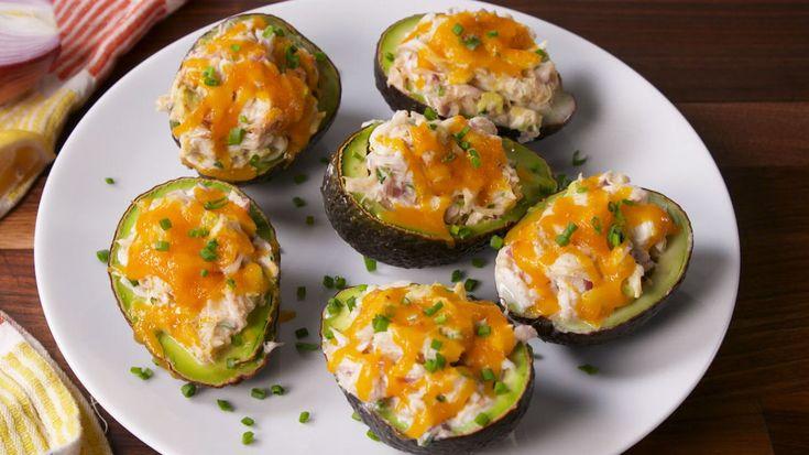 Avocado Crab Boats - Delish.com