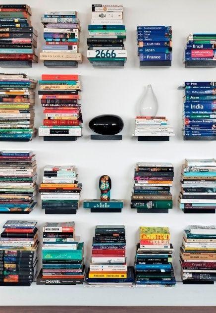 Livros decoram ambientes de maneira criativa e até mesmo inusitada - Casa e Decoração - UOL Mulher