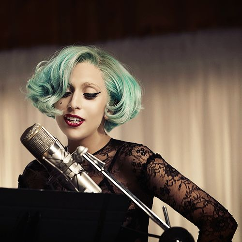Lady GaGa - I love her courage and outgoing personality!