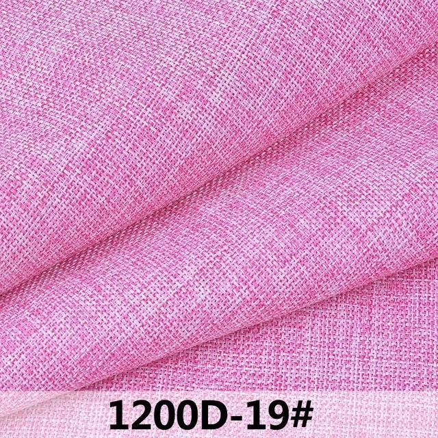 50x145cm Colorful Linen Fabric Cheap Cloth, Pre-cut Textil For Curtain, Sewing Fabric By The Meter Tecido Telas Por Metros Tissu