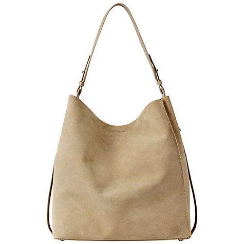 Buy AllSaints Paradise Tote Bag, Sand Online at johnlewis.com