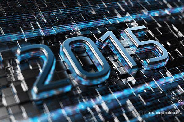 2015 title on Behance
