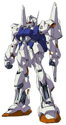 "The MSN-00100 Hyaku Shiki GPB Color ""Byaku Shiki"" is a custom variant of the MSN-00100 Hyaku Shiki. It was featured in the OVA Model Suit Gunpla Builders Beginning G. The unit is piloted by Kenta Sakazaki."