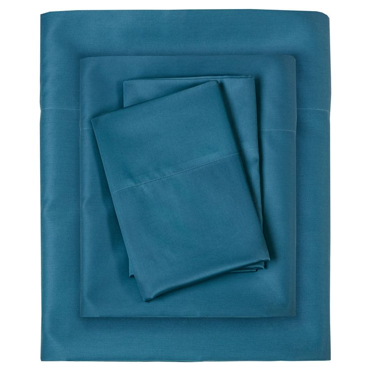 Experience luxurious sleep with 300TC Liquid Cotton Sheet Set. This silky cotton sheet is made from the finest mercerized 100% cotton pima yarns and have been engineered to be the perfect sheet. These 300 thread count sheets are woven using single pick insertion that results in a high quality sheet that has the hand and sheen of silk but with the buttery soft, moisture absorbency of premium extra long staple cotton. We challenge you to feel the difference, once you've tried Liquid C...