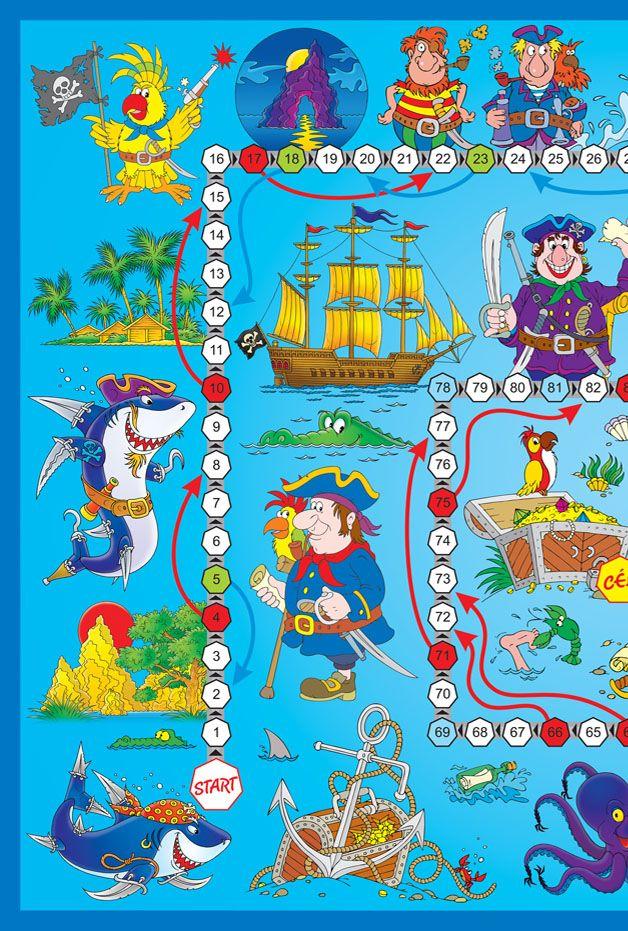 A kalózok útja - Játékok - Parentia