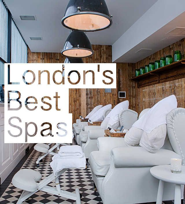 London's Best Spas including Banya No.1, Barber & Parlour, Cowshed, K West Spa, Pale Ale Pedicure, Porchesta Spa, The Spa at Dolphin Square