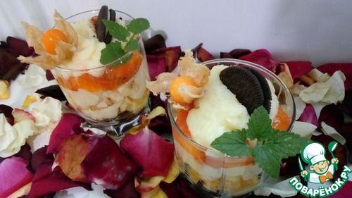 Трайфл с манным кремом - кулинарный рецепт
