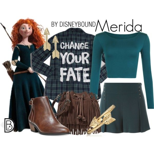 Disney Bound - Merida