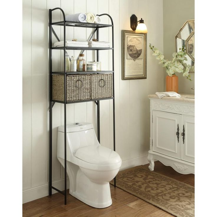 25 best ideas about shelves over toilet on pinterest bathroom shelves over toilet toilet. Black Bedroom Furniture Sets. Home Design Ideas