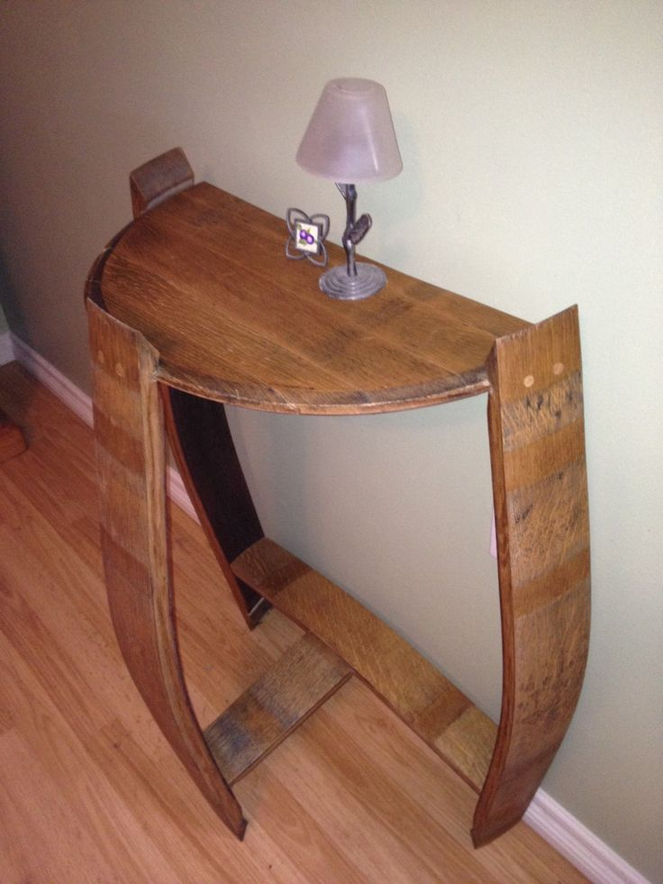 Wall Table – ReWined Barrel Creations