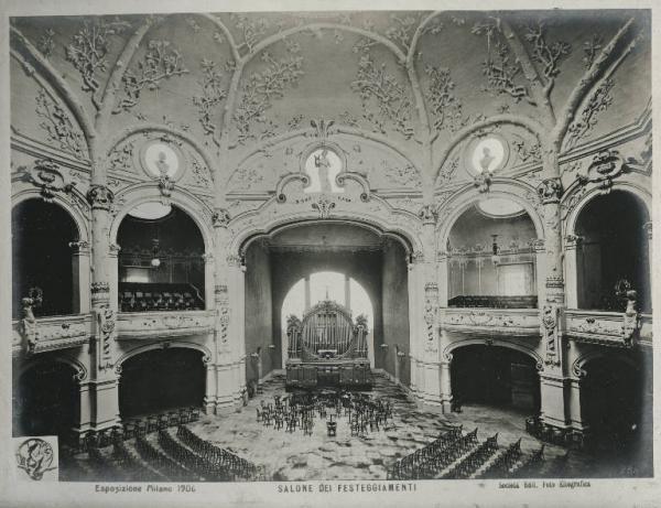 Esposizione Internazionale, Milano, Lombardia, Italia, 1906