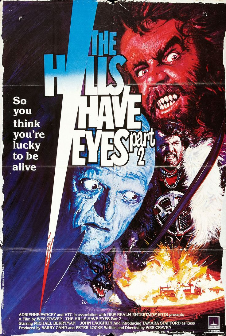 The Hills Have Eyes Part II (1985)