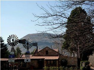 Clarens wind mill centre.  The jewel of the Free State. http://www.southafrica.to/provinces/FreeState/towns/Clarens/Clarens.php