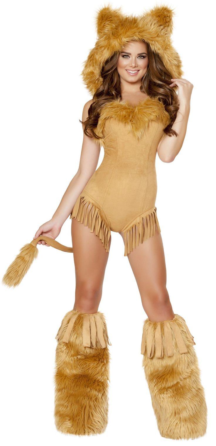 Lion halloween costume women