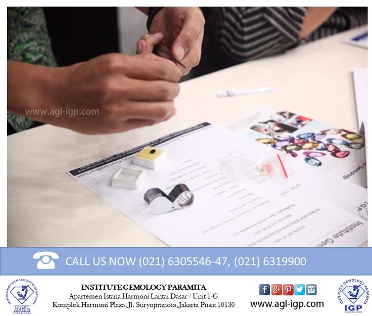 As one of the leading gemology education agencies in Indonesia, Institute Gemology Paramita gemology science proves competency by offering Customozed Programmes. In this program students can apply for the required classes that did not exist in the list of classes.