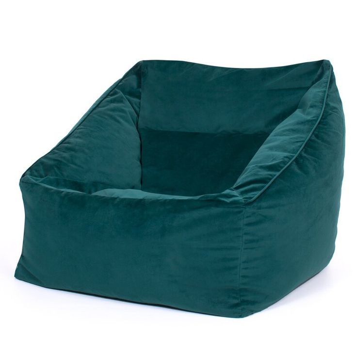 Park Art My WordPress Blog_Teal Fuzzy Bean Bag Chair