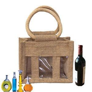 Custom Wine Bottle Gift Bags,Burlap Wine Bags Wholesale