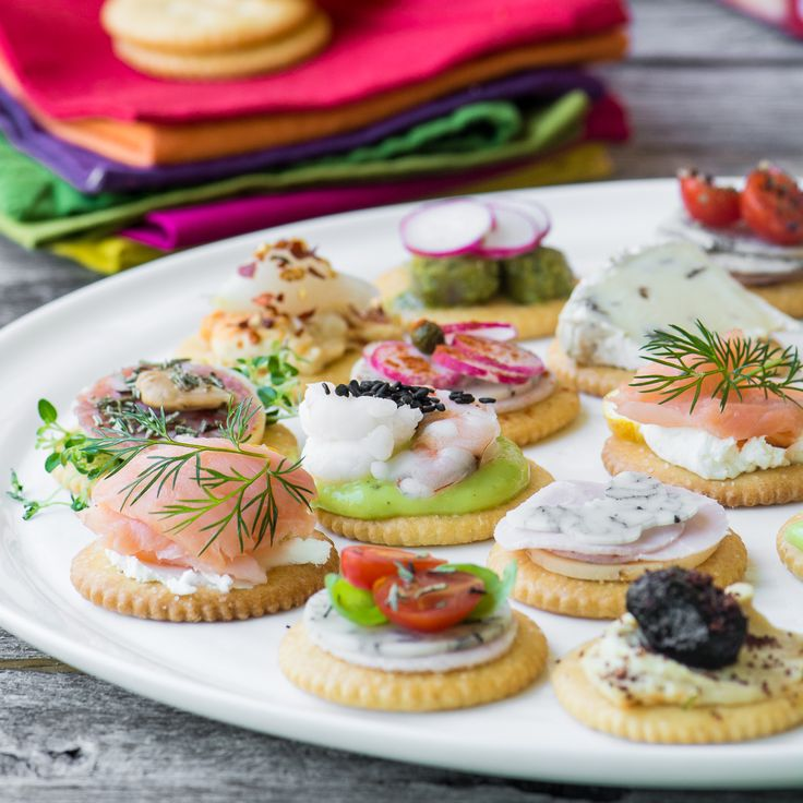 100 canapes recipes on pinterest canapes tapas ideas for Canape toppings ideas