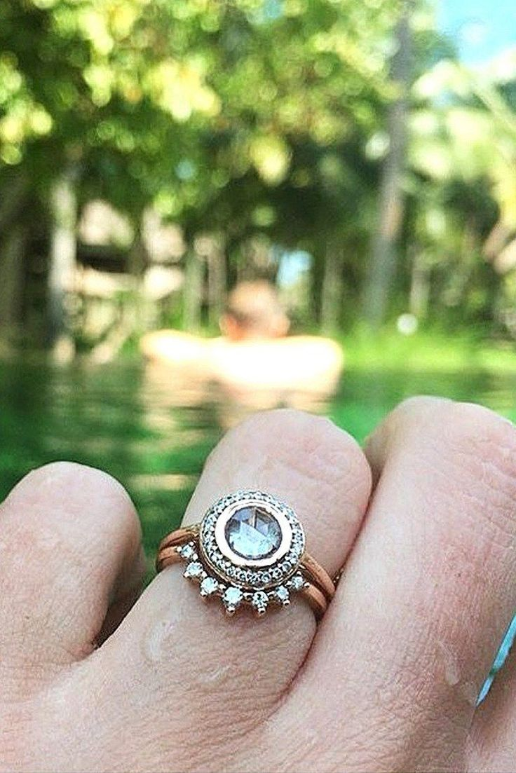 Unique engagement rings say wow 16