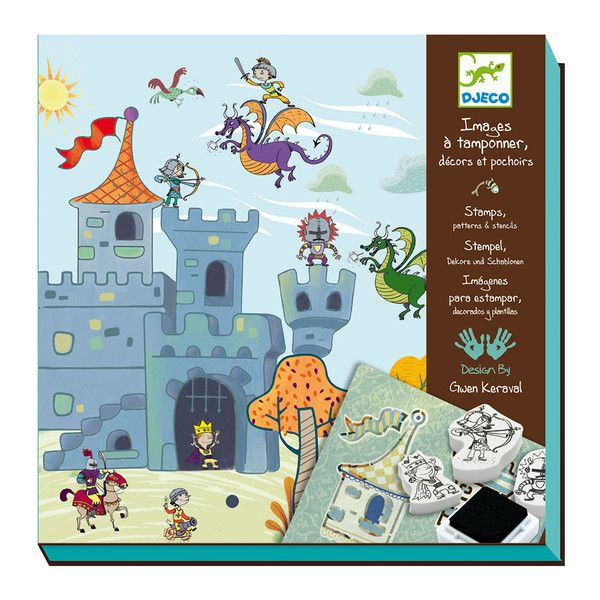 This set has been designed for children who enjoy arts and crafts. Each kit contains all you need to create inspired picture stories using a series of stencils