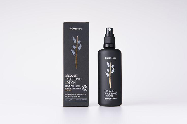 Organic face tonic lotion