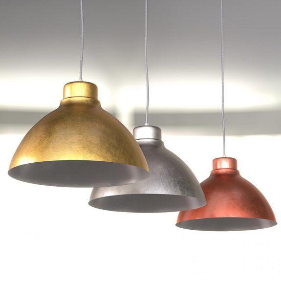 Hängeleuchte im Industrial-Stil aus Stahl. #Industrie - #Look