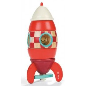 Janod - Wooden Magnetic Rocket Puzzle  What little boy doesnt like rockets! A winner all round.  #entropywishlist #pintowin