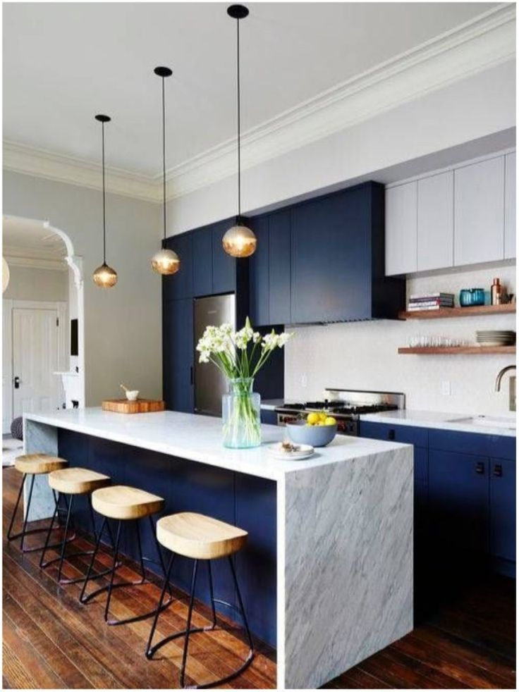 Love the colour scheme Azul na decor / homedecor