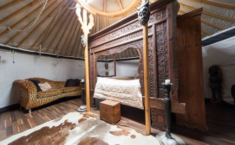 Glamping in Lincolnshire at the very stylish Lincoln Yurts