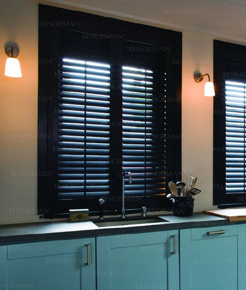 Sussex Norman® Wood Shutters